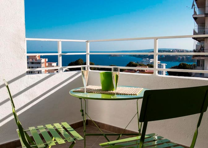 Relax con vistas al mar!! Relax with sea views!! - Palma - Apartament