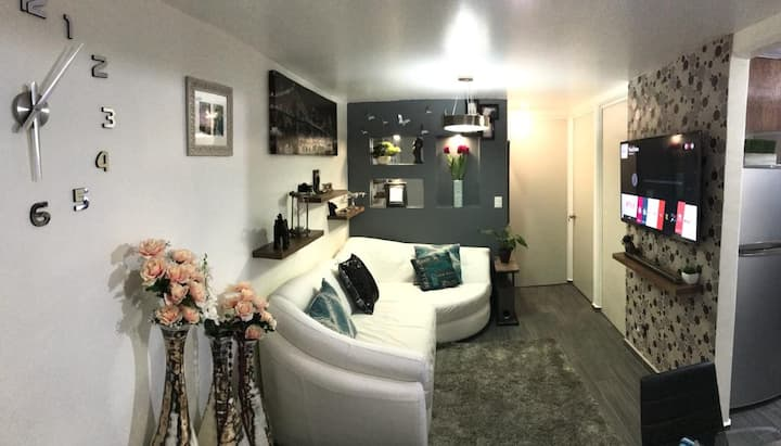 Unique and cozy accommodation in the CDMX ,airport