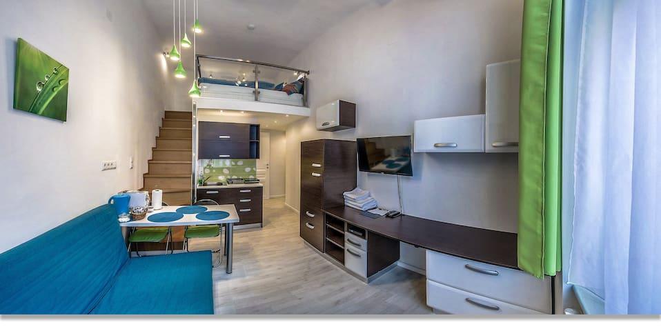 Blue lime-tree apartment - Budapeszt - Apartament