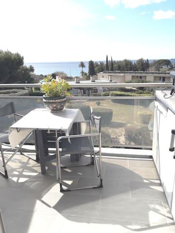 appartement vu sur mer