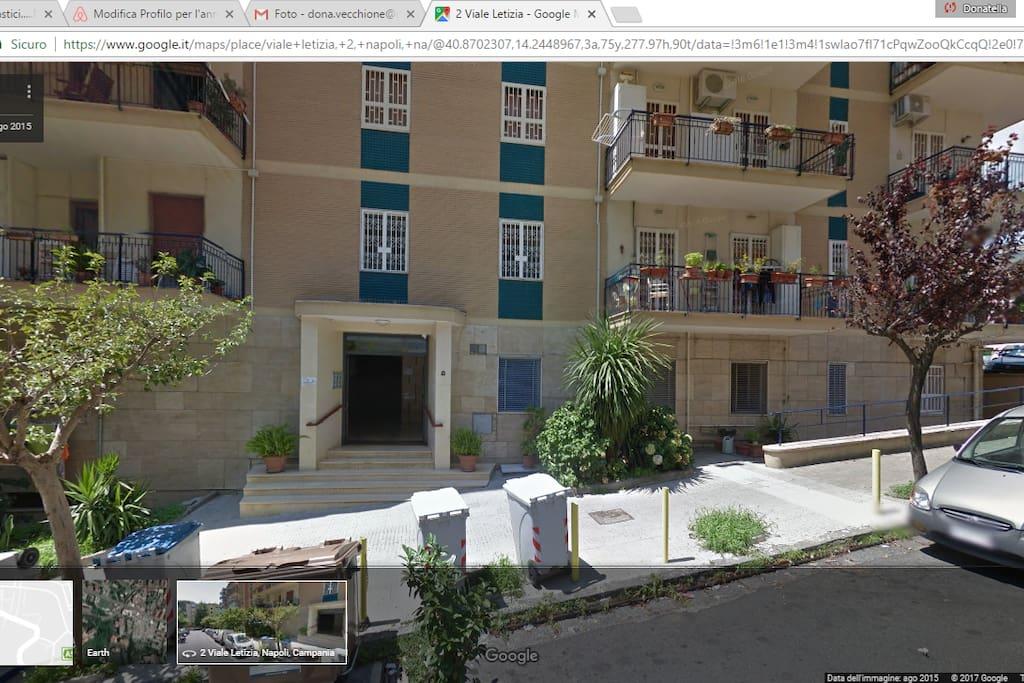 Appartamento letizia appartamenti in affitto a napoli for Appartamenti in affitto arredati napoli