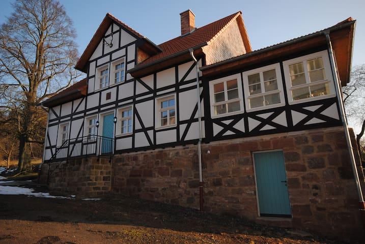Farbenfrohes Ferienhaus - Ludwigsau - Rumah