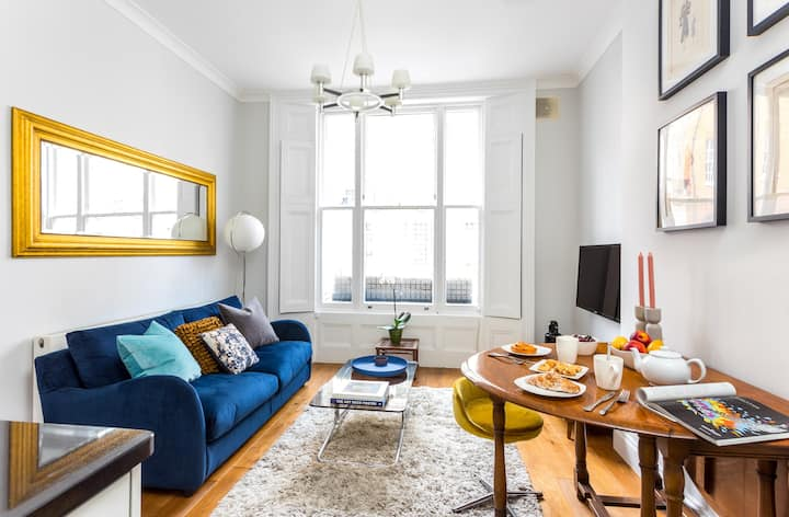 Stylish Notting Hill apartment for 2-4