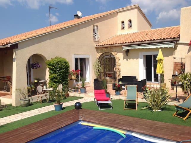 Villa Gard Nîmes/Caissargues 200€/J - Caissargues - Villa