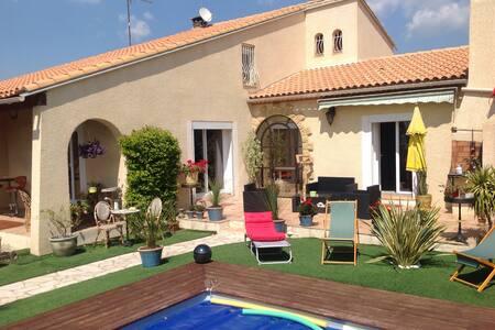 Villa Gard Nîmes/Caissargues 200€/J - Caissargues