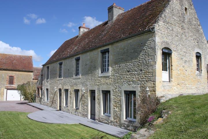 Belle maison en pierre - Magny-la-Campagne - Rumah