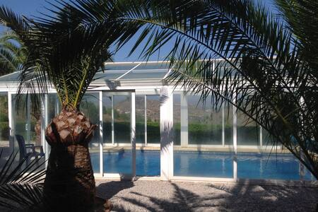 Casita Barbara, with private pool, private grounds