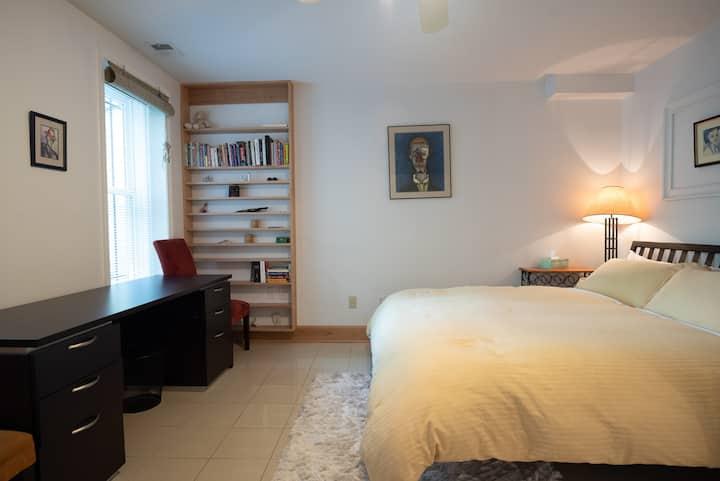 Bright Capitol Hill English Basement Apartment