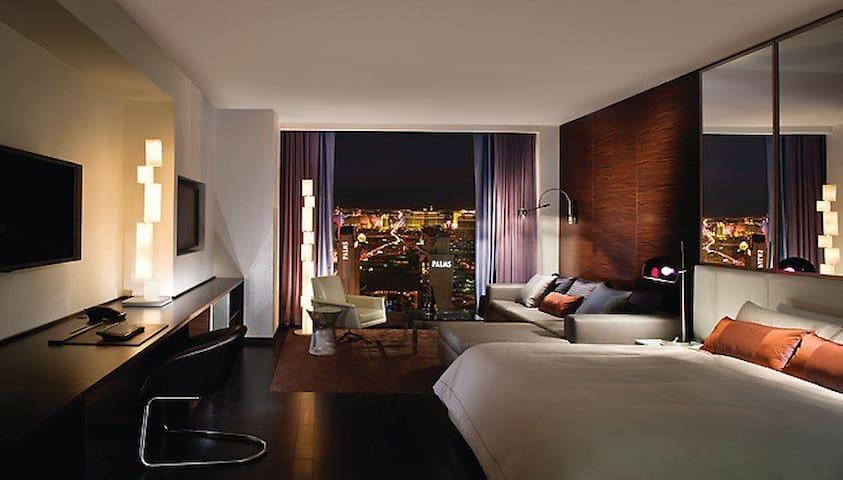 Palms Place Stripview Open Balcony Luxury Suite R