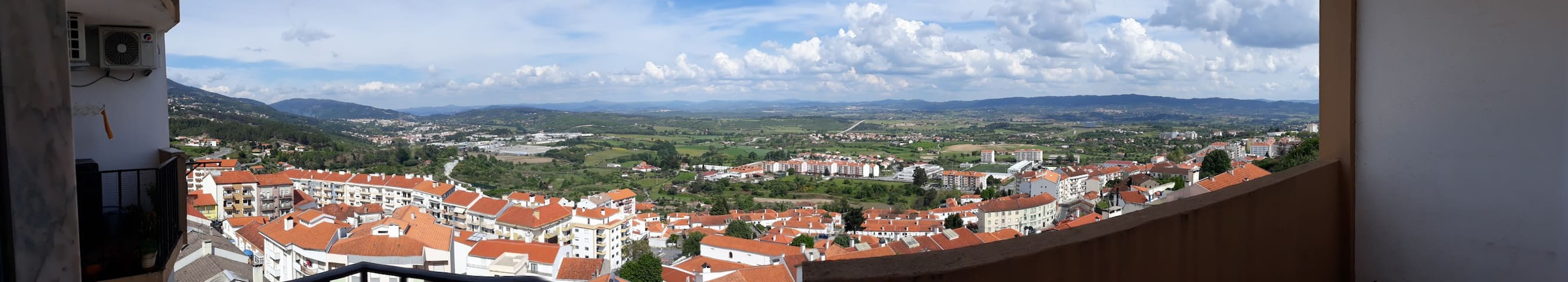 Apartment with view, balcony in centre of covilha
