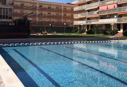 Beach appartment with nice swiming pool - Malgrat de Mar