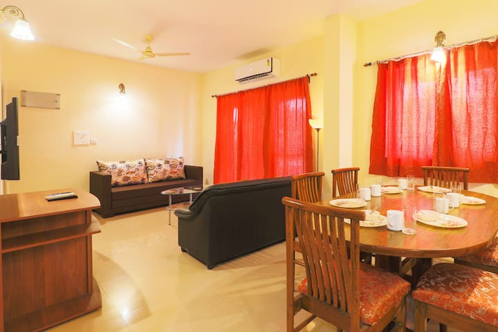 Goa Chillout Apartment - 2 BHK, Baga