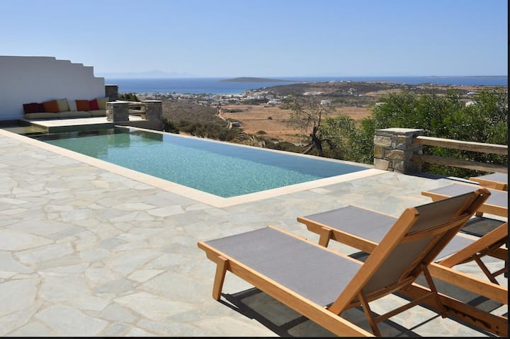 Aliki Villa with pool and breathtaking view