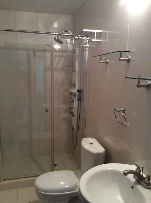 Second Bathroom with a walk in shower