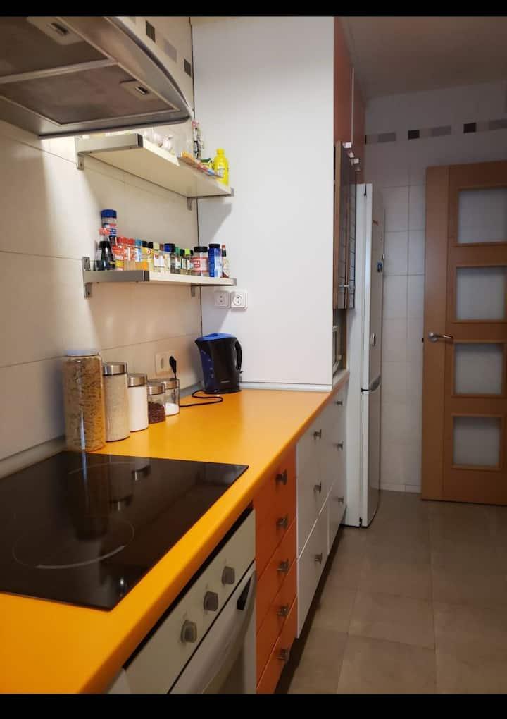 Habitación Individual Getafe, Madrid 🏘