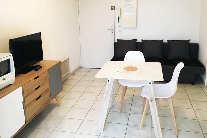 appartement CLIMATISE AVEC GARAGE