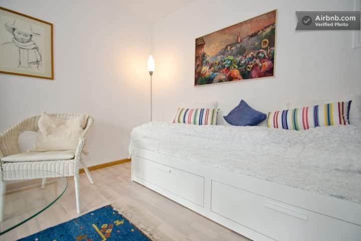 Ruhige 1-Zimmerwohnung nähe Schweizer Grenze