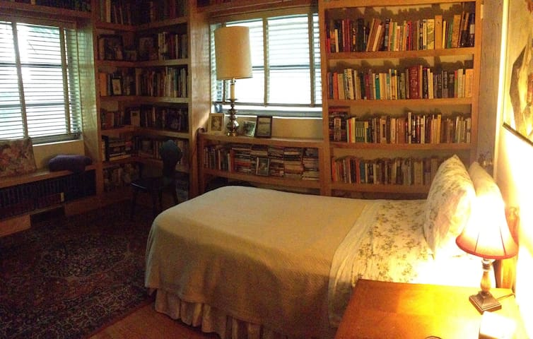 The Library-private bedroom in a home