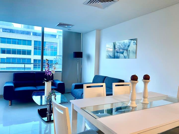 Hermoso apartamento en Blue Gardens 1003