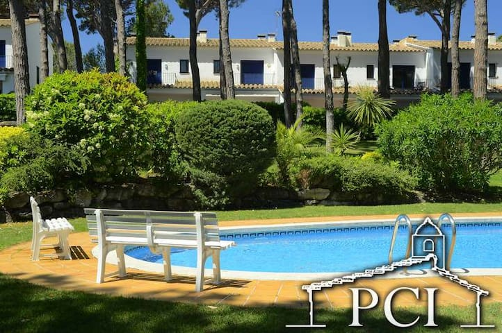Sc5 Serra 3 Terraced house with communal pool - Pals - House