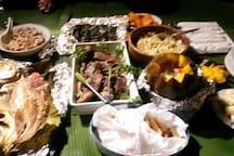 Feast prepared the Fijian way
