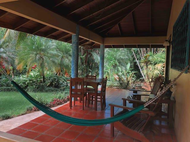 Riviera Jungle Villa! Walk to Surf, River Trail