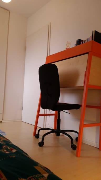 Schreibtisch zum Arbeiten