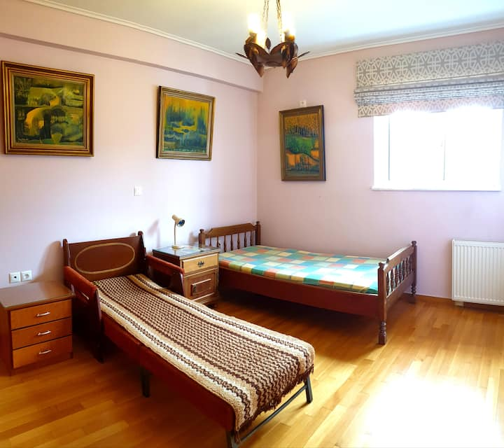 Comfy Room Near Airport & Athens
