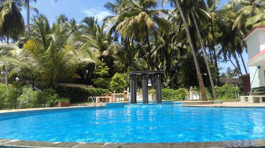 Prefect vacation house for families 2bhk in Baga