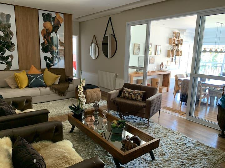 Luxo, conforto, preço perto do Centrinho de Campos