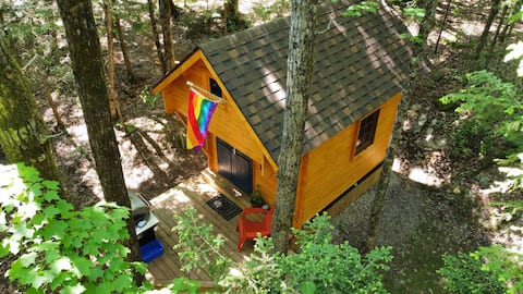 Elm 8 Cabin -Haliburton, Tiny Home Glamping