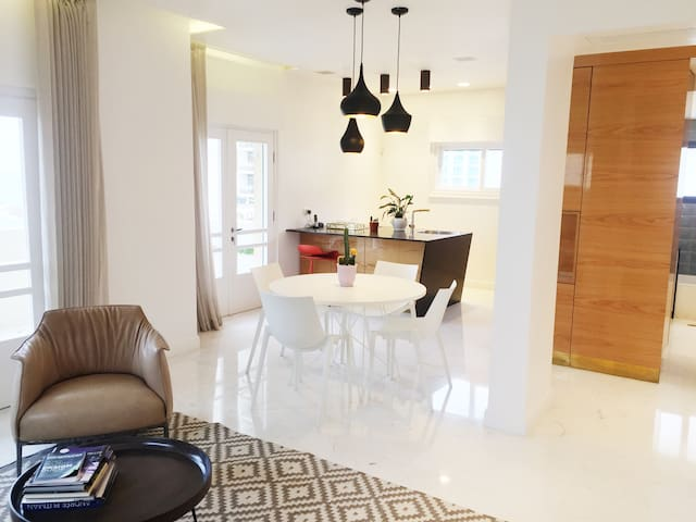 LUXURY GORDON BEACH 2BD - SEA VIEW - Tel Aviv-Yafo - Apartemen