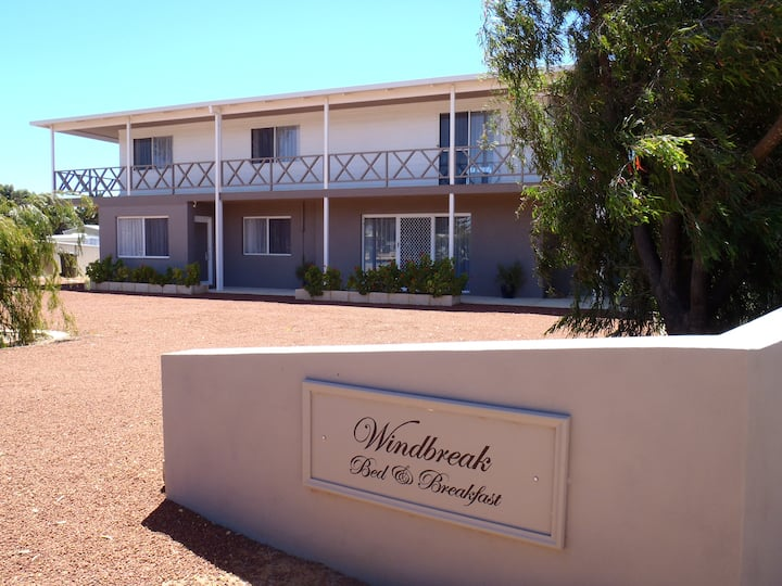 Windbreak B and B queen room