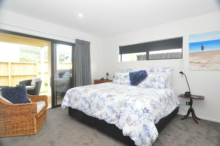 Bedroom 2 -  Access to Own Deck and Smart TV