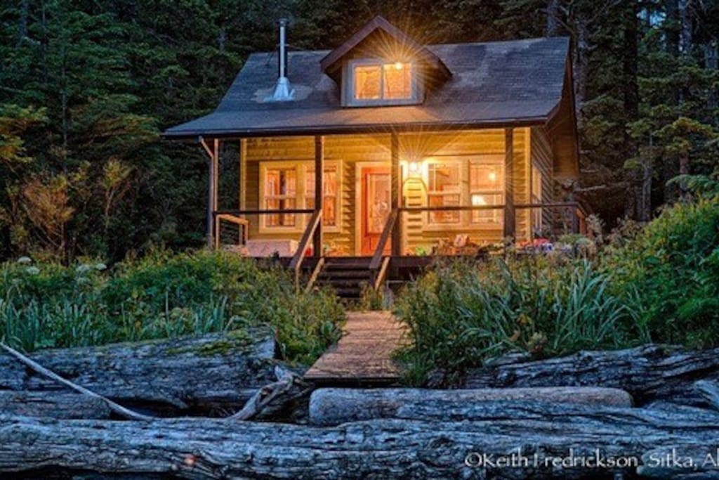 Kasiana Island Remote Cabin Cabins For Rent In Sitka