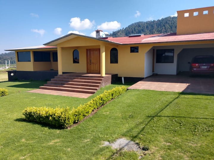 casa de descanso a 20 minutos de Valle de Bravo