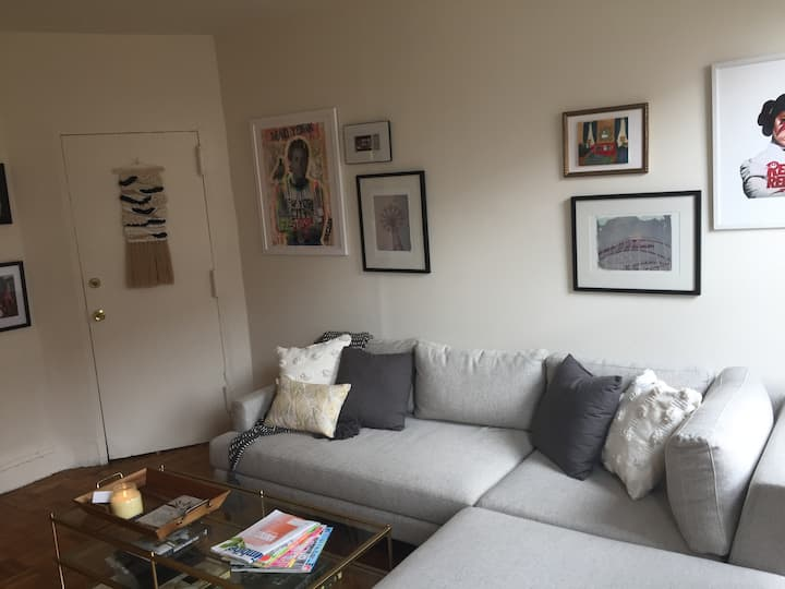 Spacious, Sun-Filled 1BR - Columbia Waterfront