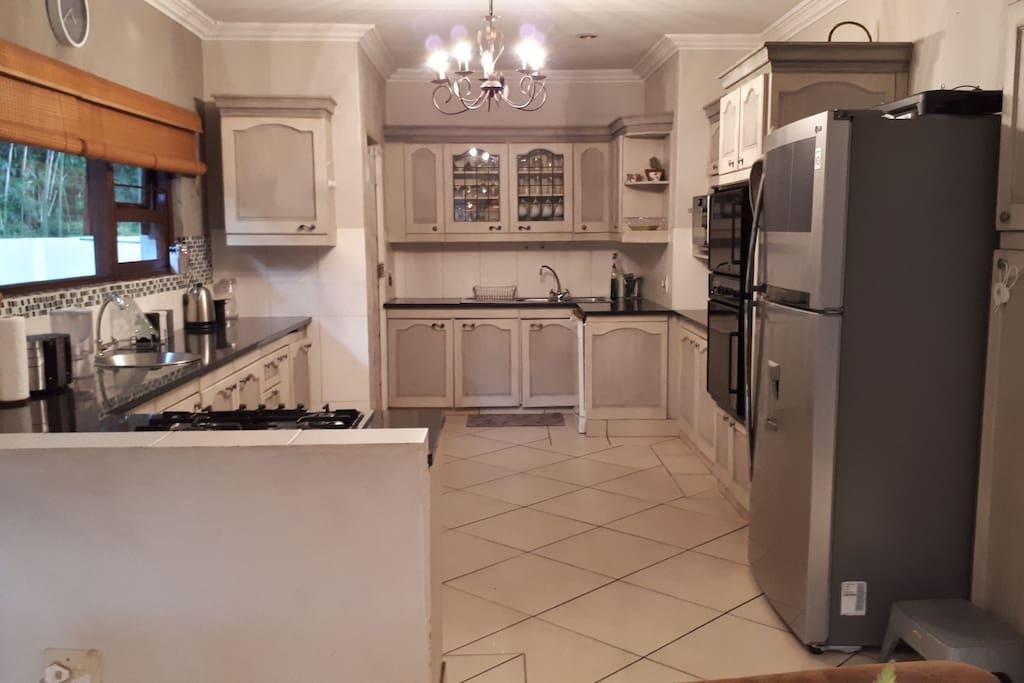 Main house kitchen