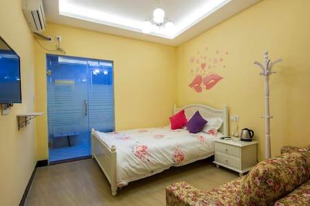 旅途Story   1.5米大床 - Xiamen Shi - 別荘