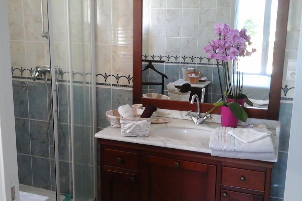 Salle de bains privative