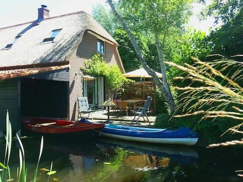 Giethoorn Lodge ,假日旅居, Ferienhaus