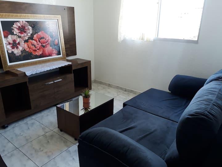Apartamento com quarto individual parte Nobre