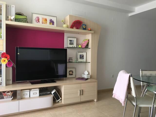 Apartamento Costa Azahar dos habitaciones Moncofa