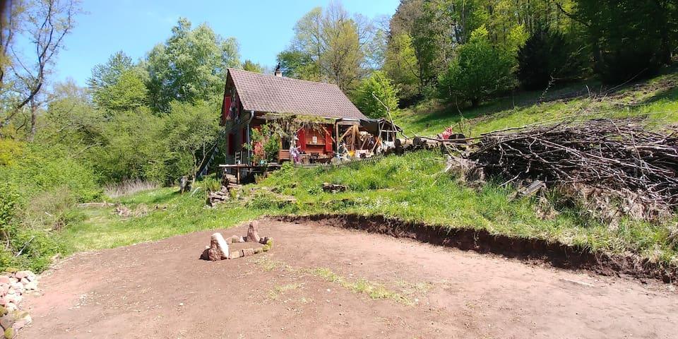 Urige Berghütte   Künstler Atelier   Liebesnest