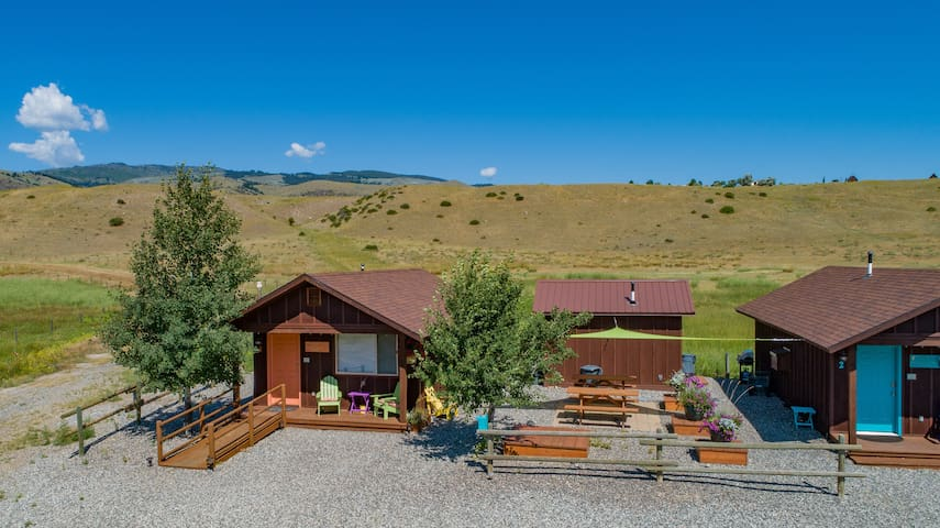 Tiny Cabins for your Montana  Adventure