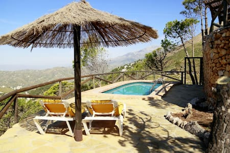 Finca La Sierra with private Pool - Cómpeta
