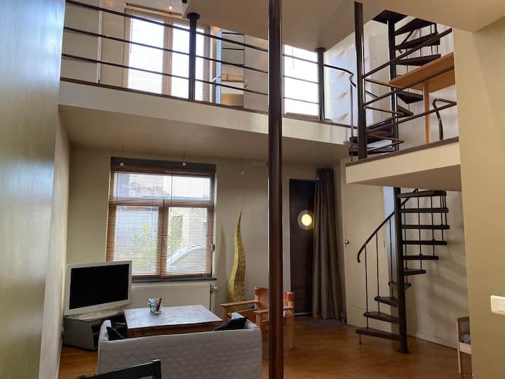 Maison 3 niveaux type loft à Sainte Walburge