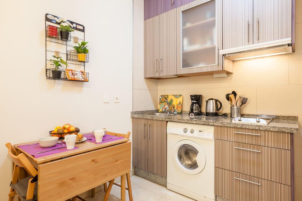 Coqueto apartamento zona alameda vft se 0419 apartments for rent in sevilla andaluc a spain - Apartamentos los angeles sevilla ...