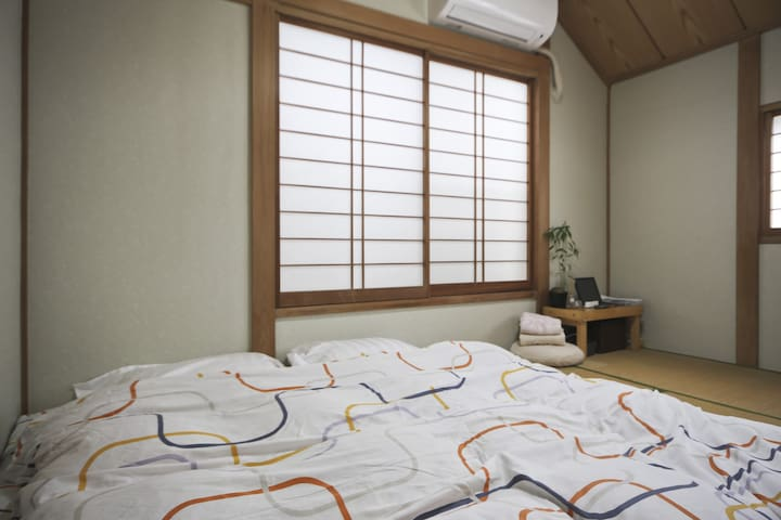 Japanese style room near Shinjuku - Suginami - House