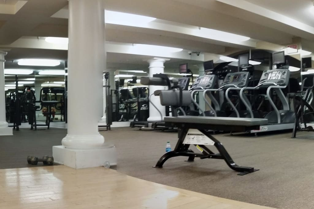 Fully equipped gym access included